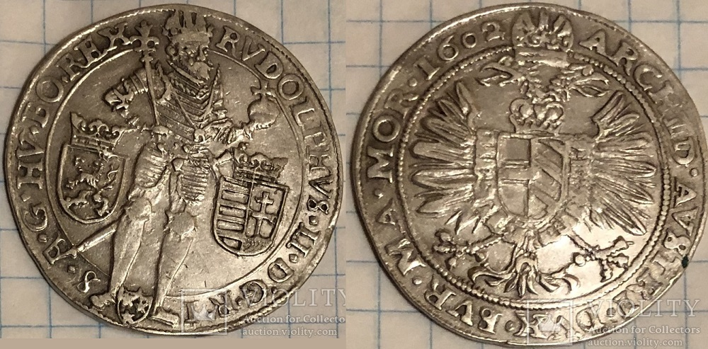 Полуталер 1602 года