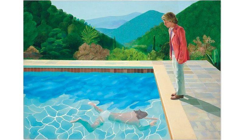 """""""Портрет художника"""" Дэвида Хокни продали за $90,312 млн. Это не рекорд цены для ныне живущих художников"""
