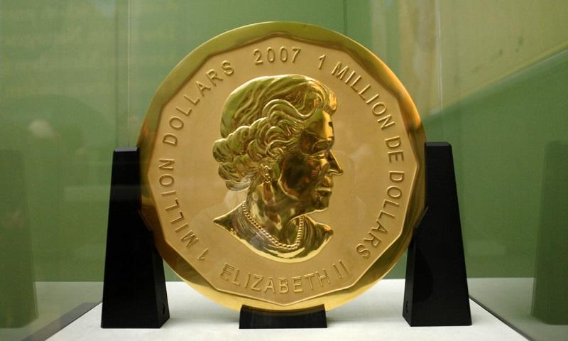 В Берлине начался суд над похитителями золотой монеты весом 100 килограммов. Ее так и не нашли