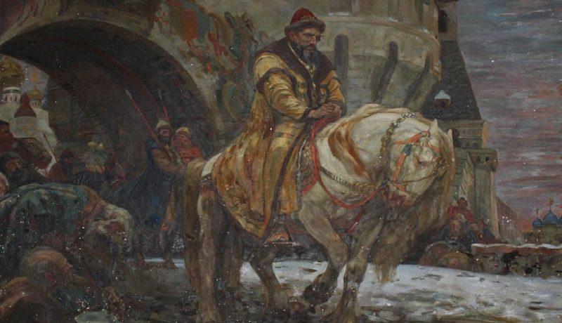 Украина возвращает из США картину Михаила Панина «Тайный выезд Ивана Грозного перед опричниной»
