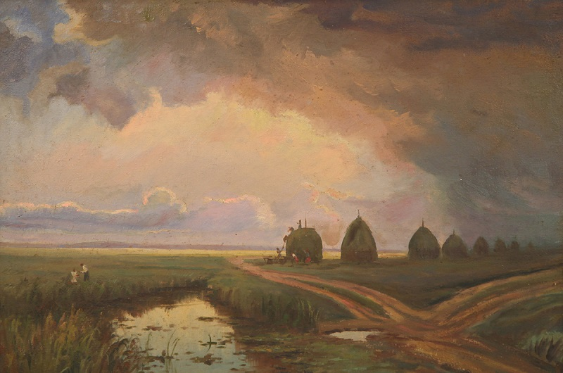 "Михаил Панин (1877-1963) ""Перед грозой"" 1916"