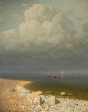"Архип Куинджи (1842-1910) ""Ладожское озеро"", 1871"
