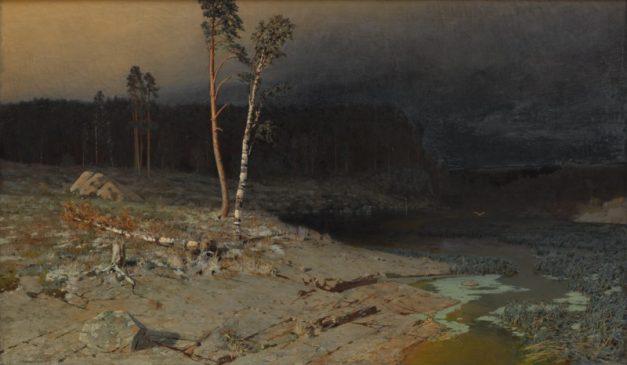 """Архип Куинджи (1842-1910) """"На острове Валааме"""", 1873"""