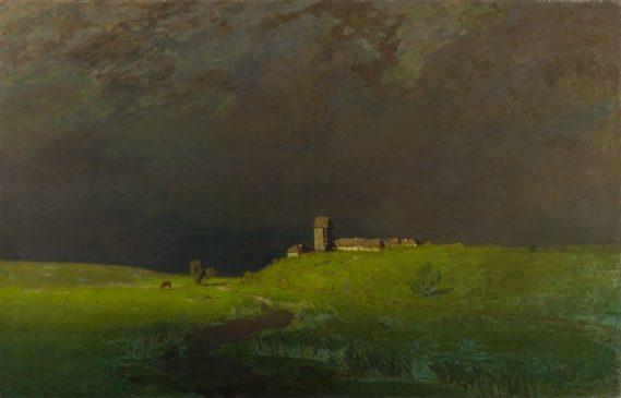 """Архип Куинджи (1842-1910) """"После дождя"""", 1879"""