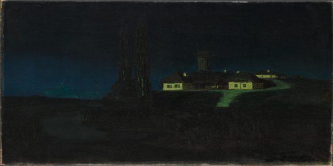 """Архип Куинджи (1842-1910) """"Украинская ночь"""", 1876"""