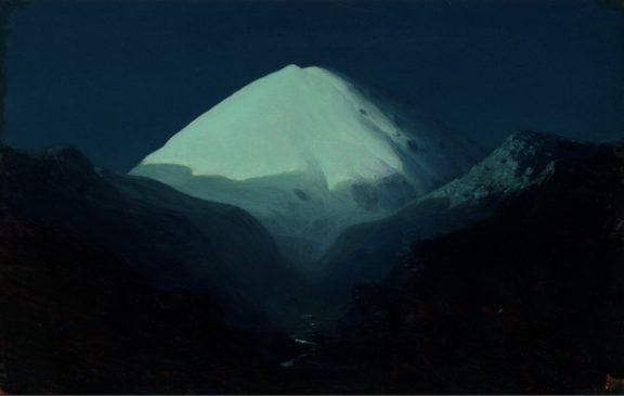 "Архип Куинджи (1842-1910) ""Эльбрус. Лунная ночь"", 1890-1895"