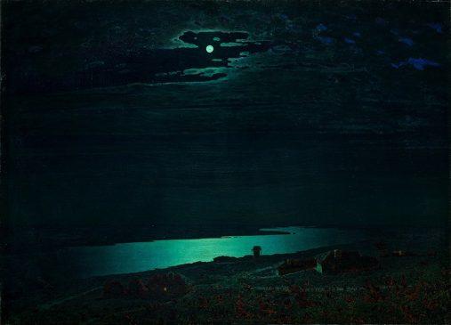 "Архип Куинджи (1842-1910) ""Ночь на Днепре"", 1880"