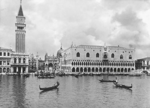 PALAZZO DUCALE, CANALE DI SAN MARCO, 1895