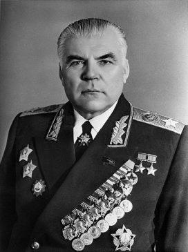 маршал Советского Союза (1944), дважды Герой Советского Союза, министр обороны СССР (1957-1967) Родион Малиновский