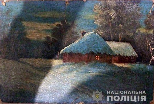 Картины, изъятые у подозреваемых в убийстве ювелира Сергея Киселева