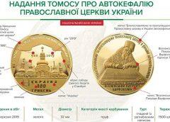 Нацбанк Украины впервые за три года выпустил золотую монету