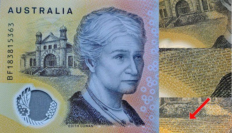 Банк Австралии напечатал сопечаткой 400 млн пятидесятидолларовых купюр