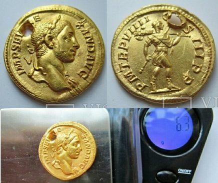 Ауреус Александра Севера 231-235 гг н.э