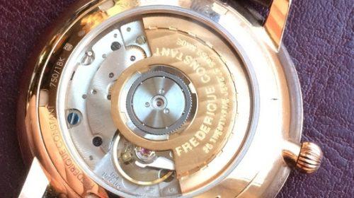 Frederique Constant Automatic 40 мм золото 750