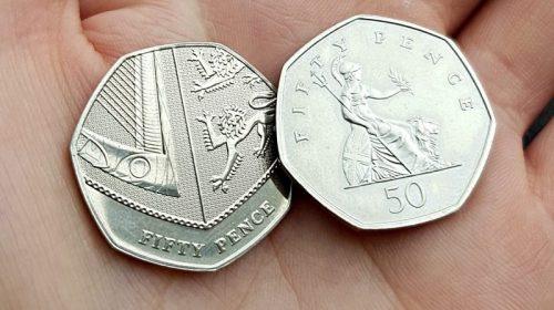 50 пенсов 2008 Britannia 50p