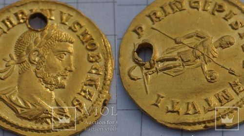 Ауреус Карина (283-285 года н.э.)