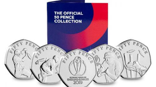 50 пенсов (50p) ICC Cricket World Cup 2019