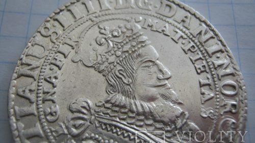 Талер, Норвегия, Кристиан IV,1646