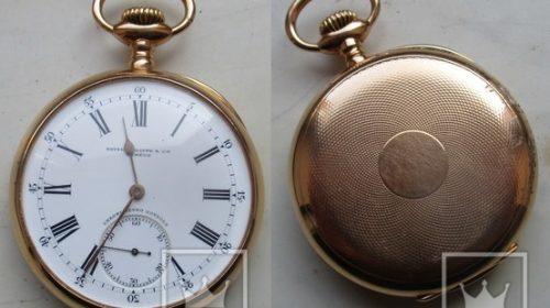 Карманные часы Patek Filippe chronometro gondolo
