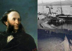 На затонувшем возле Крыма пароходе «Генерал Коцебу» могут быть картины Айвазовского