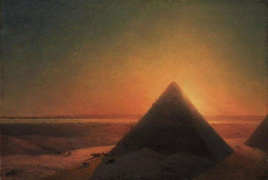 пейзажи Египта и сценки из каирской жизни Ивана Айвазовского (1869-1871)