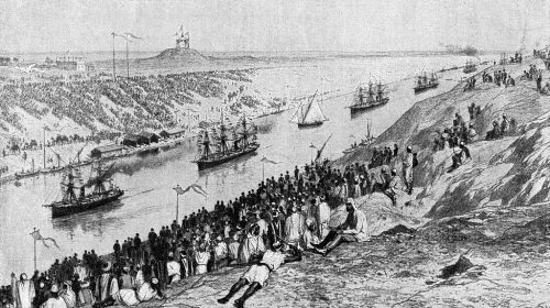 «Генерал Коцебу» стал первым российским пароходом, который прошел по Суэцкому каналу