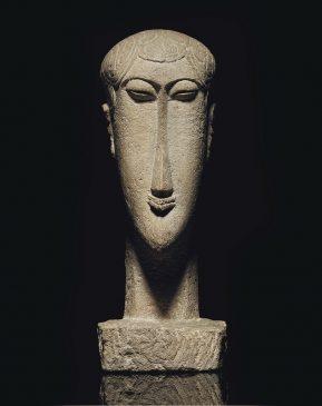 Amedeo Modigliani (1884-1920) Tête