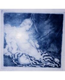 ЧОВК ІШТВАН ГРАВЮРА ОГОЛЕНА ЖІНКА, 1977, крадіжка 02.04.2009 з Закарпатської області