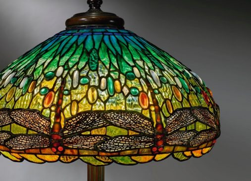 "DRAGONFLY"" FLOOR LAMP"