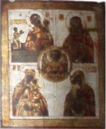Ікона БОГОМАТІР 19-20 ст, КРАДІЖКА ІКОНИ З МОНАСТИРЯ В С.БЕДЕВЛЯ ЗАКАРПАТСЬКОЇ ОБЛАСТІ 06.12.2006