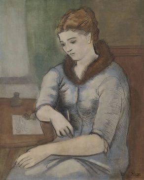 """Пабло Пикассо, """"Письмо (Ответ)"""" (La Lettre (La Réponse)"""