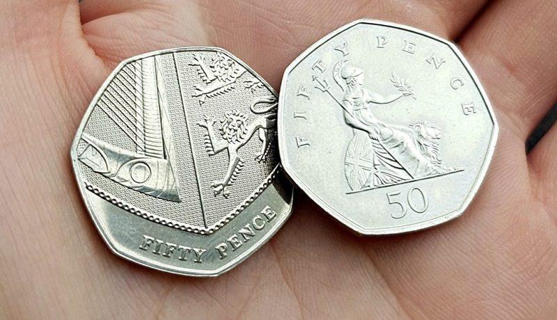 Самые редкие и дорогие 50 пенсов Великобритании