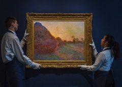 Картина Клода Моне «Стога сена» продана на Sotheby's за $110,747 млн