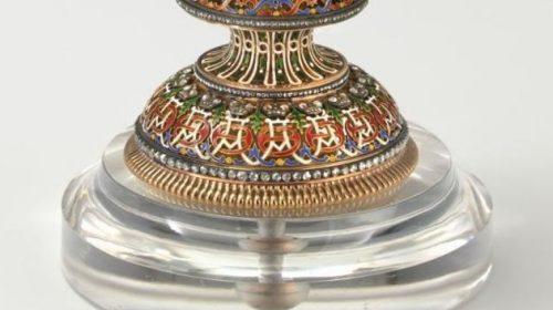 1896 год - «Яйцо вращающимися миниатюрами»