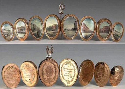 1898 год - императорское пасхальное «Яйцо пеликана»