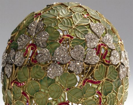 1902 год - яйцо пасхальное «Клевер»