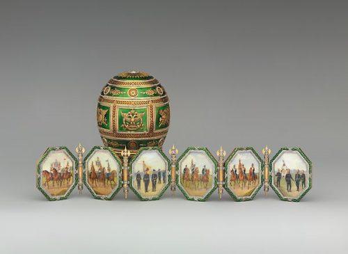"""1912 год - пасхальное яйцо """"Наполеоновское"""""""