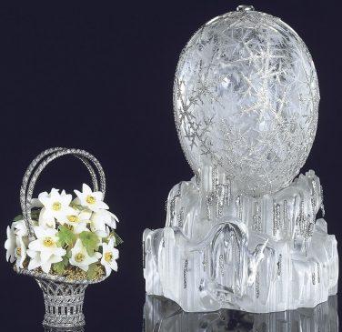 1913 год - императорское пасхальное яйцо «Зимнее»
