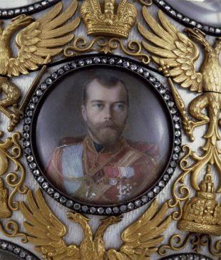 """1913 год - яйцо пасхальное """"300-летие Дома Романовых"""""""