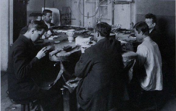 ювелирное производство Фаберже