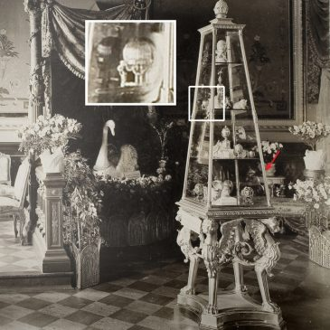 1888 год - пасхальное яйцо «Херувим и колесница»