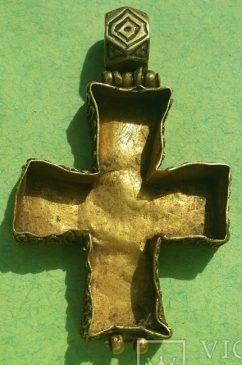 Створка золотого энколпиона, Византия/Киевская Русь, Xll век