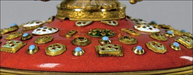 1913 год - императорское пасхальное яйцо «300-летие Дома Романовых»