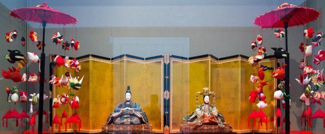 Куклы дайри-бина: император и императрица Японии