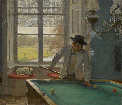 """""""Бильярдист"""" Виллем Бастиан Толен (1860-1931)"""
