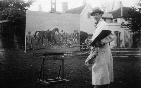 Британский художник Альфред Маннингс