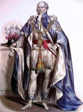 король Ганновера Эрнст Август, носивший британский титул герцога Камберлендского