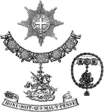 Регалии ордена ПодвязкиЯ
