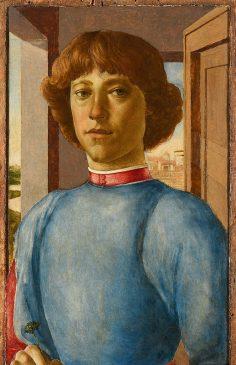«Портрет молодого человека», автор, возможно, Сандро Боттичелли