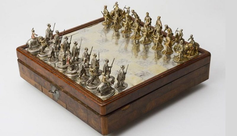 Шахматы, Германия, Франкфурт-на-Майне, конец XVII – начало XVIII века